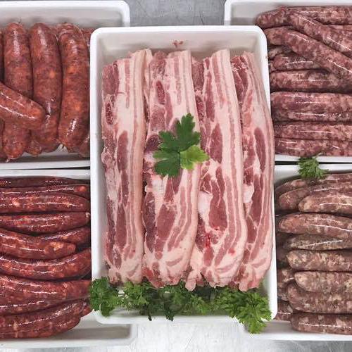 Colis spécial grillades 10kg Cochon entier cuisiné