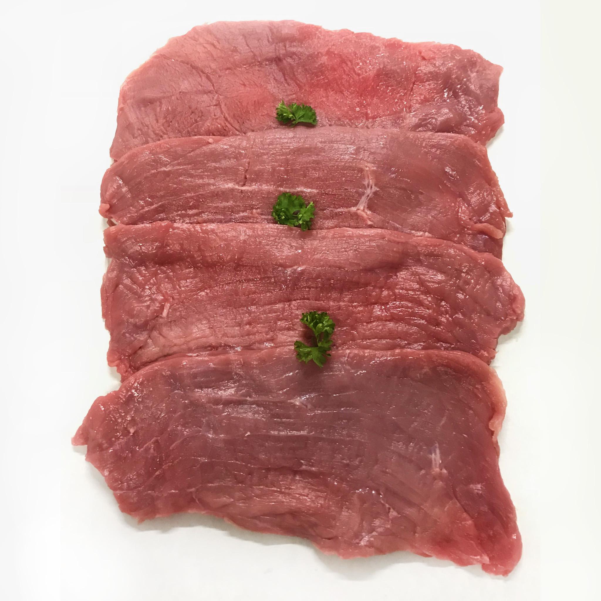 Colis de Veau 4kg500 Escalope de Veau Sèche musculaire Ets Rambeau boucher éleveur Blonde d'Aquitaine Charente-Maritime vente de viande en ligne