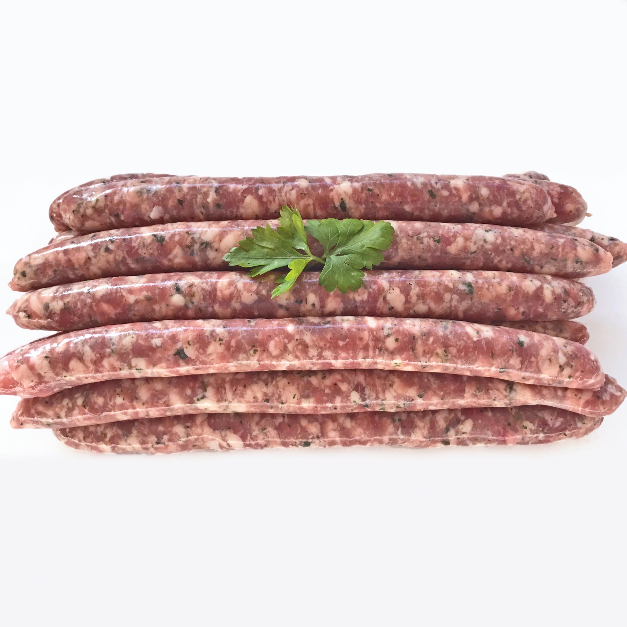 Saucisses de veau