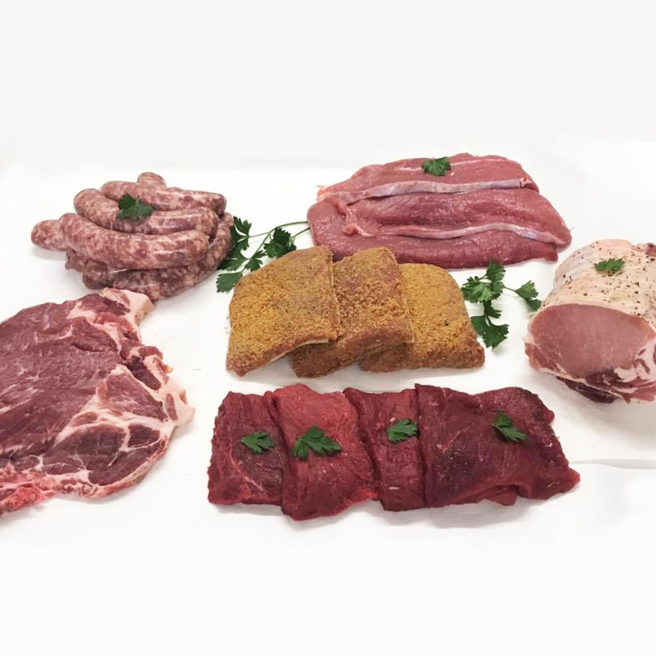 Colis de viande mixte Bœuf, Veau et Porc