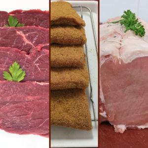 Colis Mixte Bœuf, Veau Et Porc 4kg300