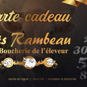 Offrez La Carte Cadeau à 20€ – ETS Rambeau